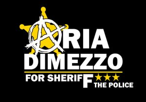 Aria 4 Sheriff Sign