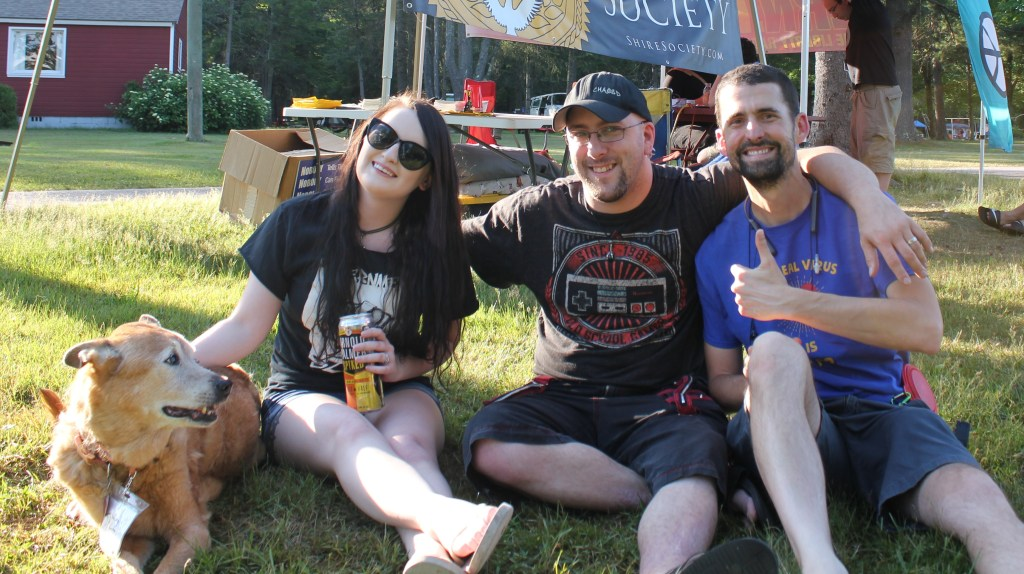 Jazzy, Renee, Andy, Ian @ Forkfest 2020