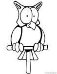 printable coloring pages of owls for kids
