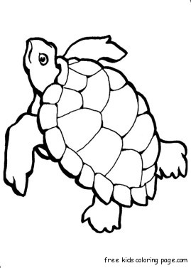 Print out turtle ocean Colouring pages for kidsFree