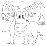 Printable farm animal Baby cow Coloring page for kidsFree