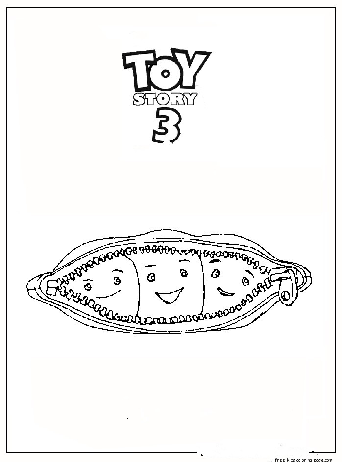 Toy Story Characters Grandchildren Pois Coloring PagesFree