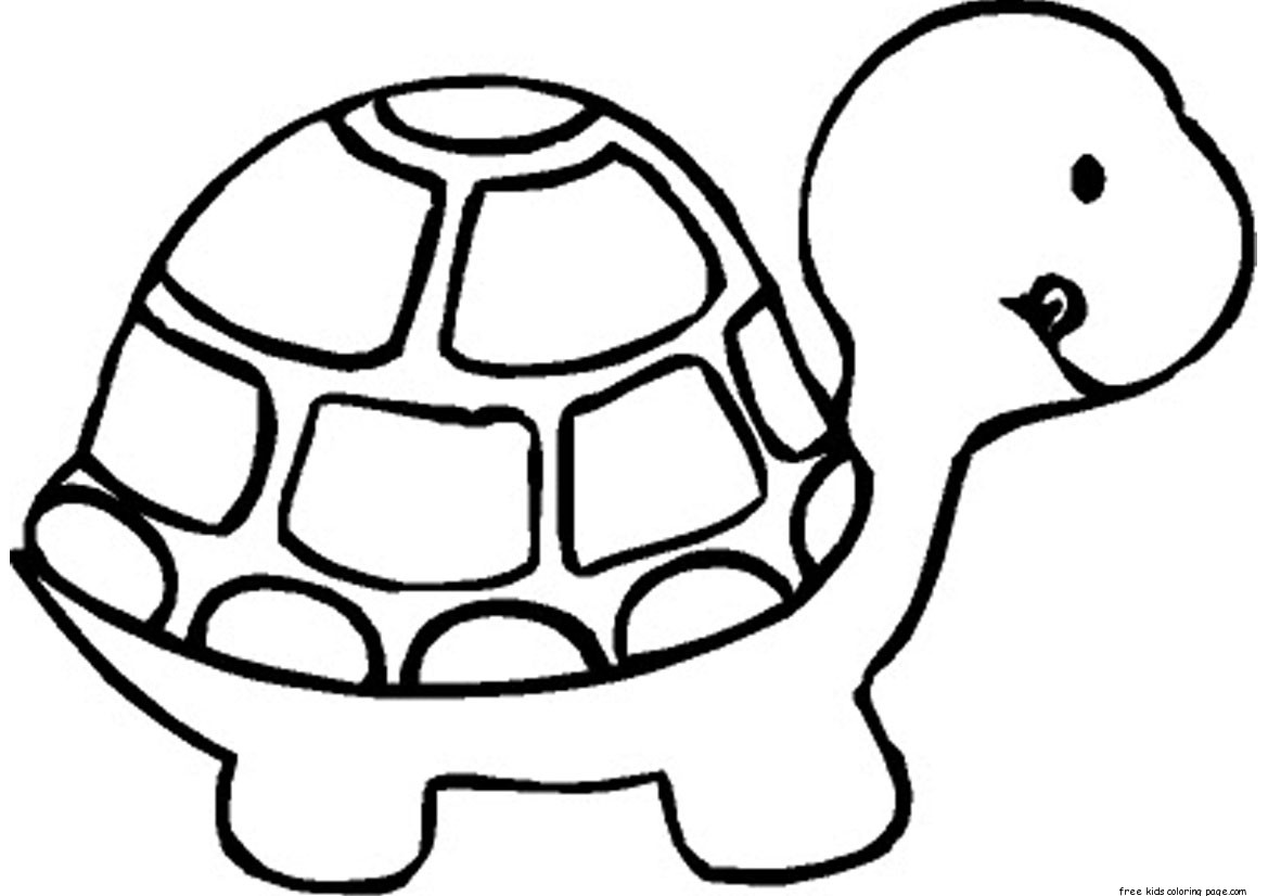 Print Out Baby Turtle Coloring Book Pages For Kidsfree