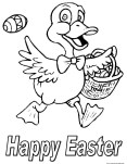 Pictures to color easter chicken eggs to print out for kids. Free kids coloring in pages easter to print out