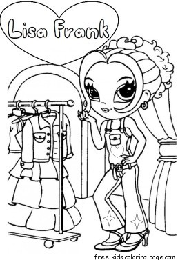 Lisa Frank Coloring Pages To Print For FreeFree Printable