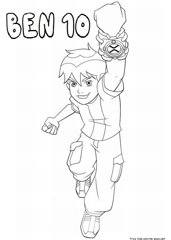 ben 10 ultimate alien characters coloring pages for