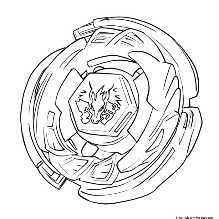 Printable beyblade coloring pages from metal fusion for