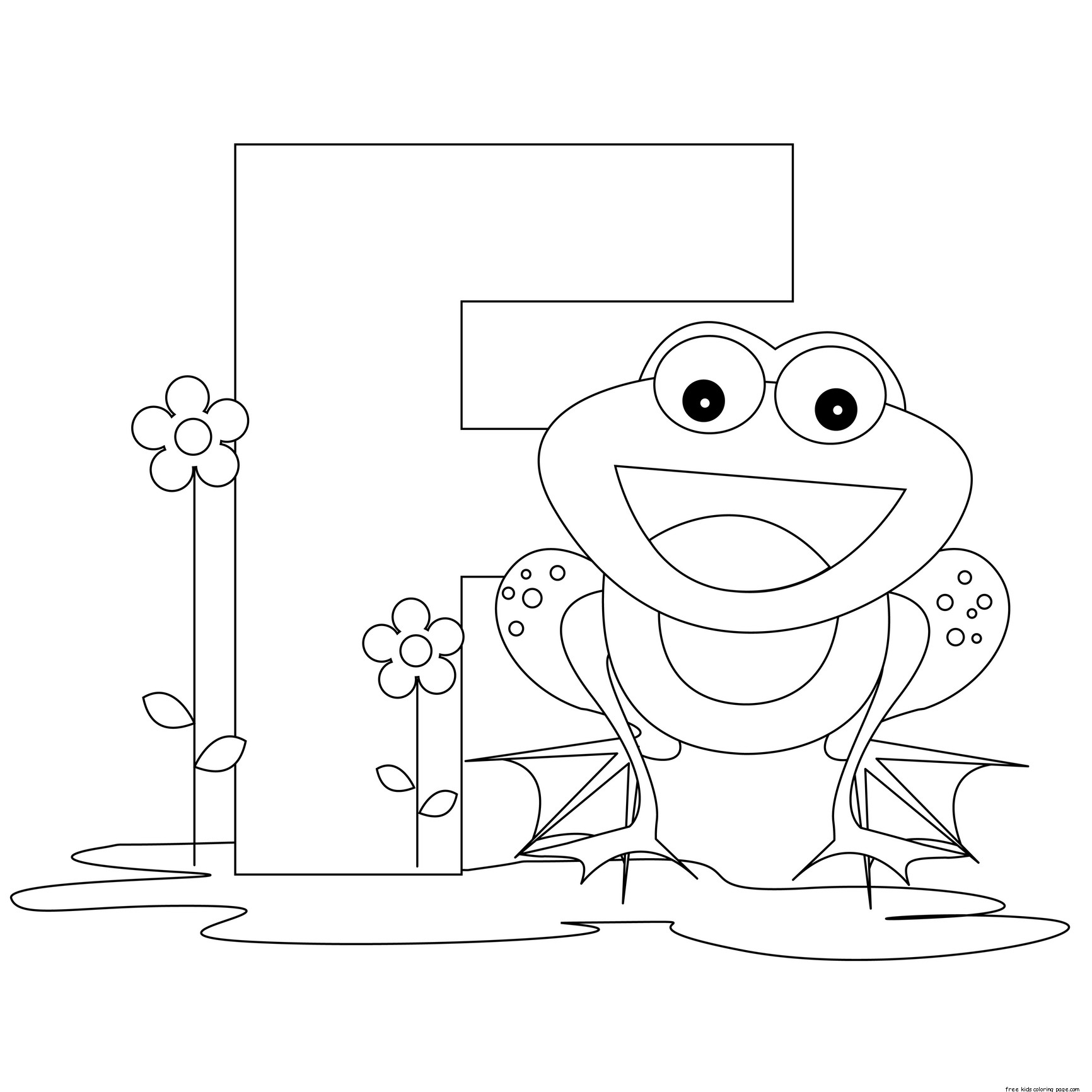 Pritnable Alphabet Letter F Preschool Activities Worksheetsfree Printable Coloring Pages For Kids