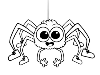Printable insects spiders activities preschool coloring