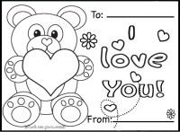 Printable valentines day cards teddy bearsFree Printable ...