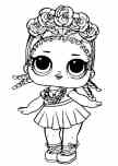 lol dolls drawings easy color to print