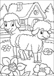 pages to color for free easter lamb coloring pages