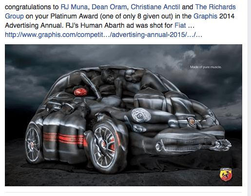 Fiat Award RJ Muna