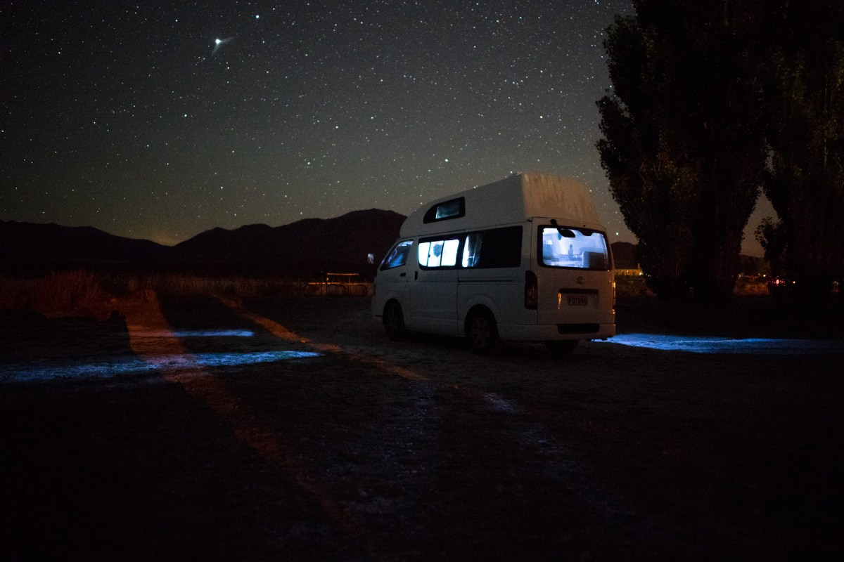 Freelancing from a Camper Van