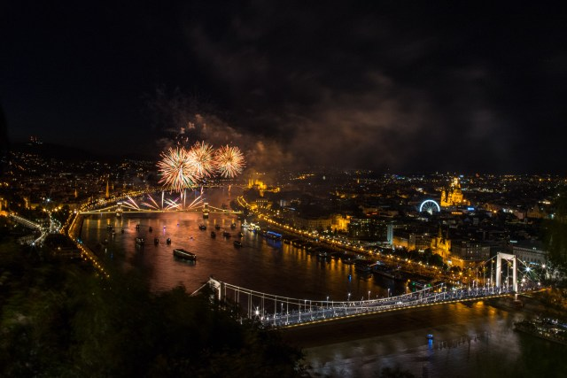 St Stephen's Day in Budapest, Hungary