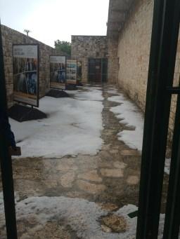 Snow in Grotte di Castellana