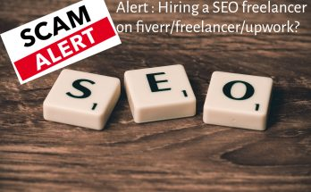 SEO scam in fiverr - freelance like pro - nepali freelancer