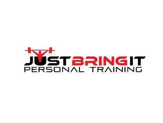 Just Bring It Personal Training logo design