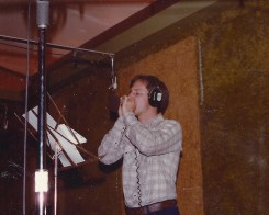 "In Studio Recording ""Run On"" In Cincinnati OH 1984"