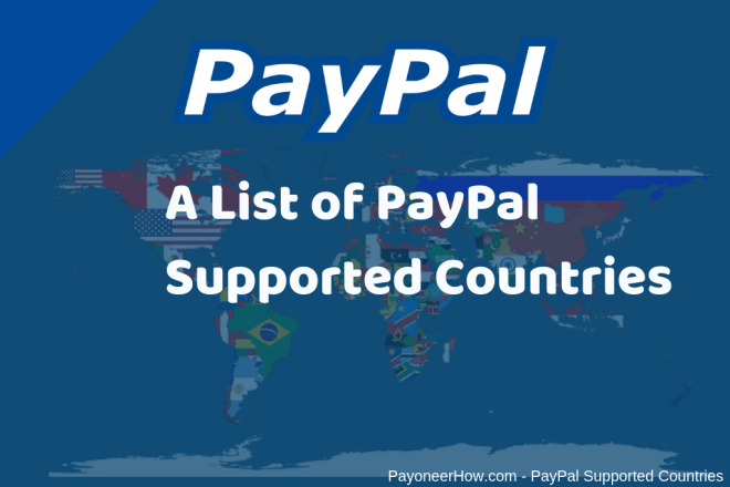 PayPal Supported Countries