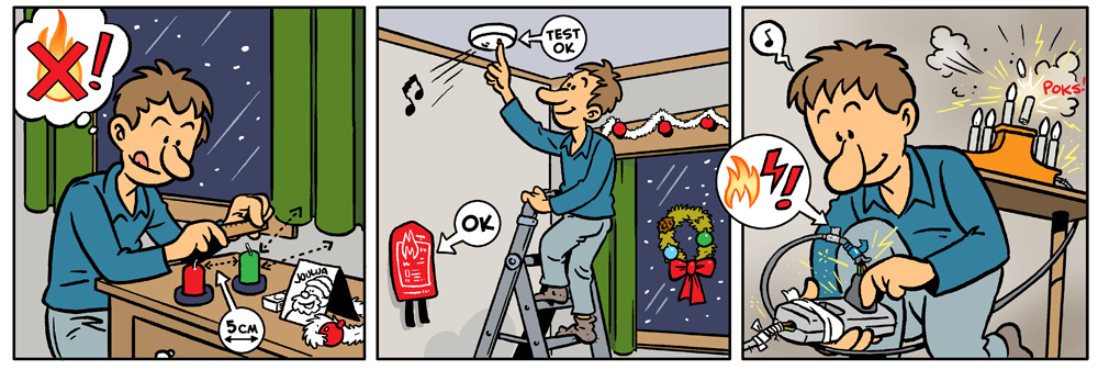strippi joulun paloturvallisuus