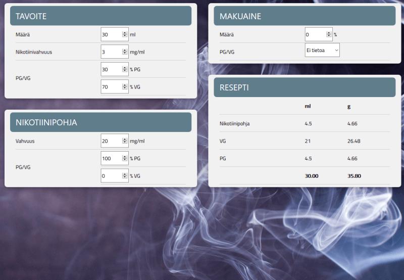 nikotiinilaskuri