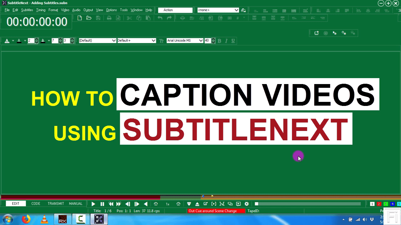 How to Caption Videos Using SubtitleNext