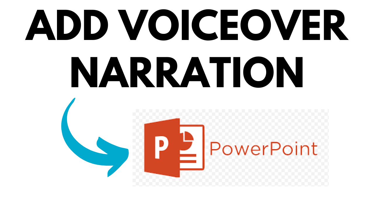add voiceover narration in powerpoint