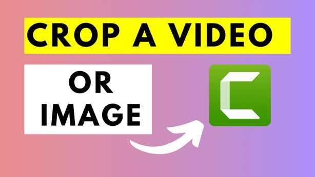 how to Crop a Video or Image Using Camtasia