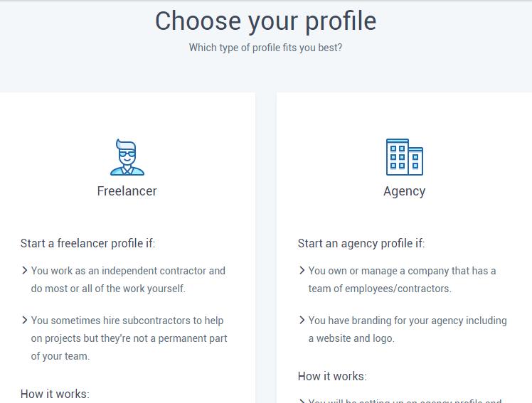 Hubstaff talent profile