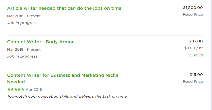 Daniel Upwork reviews