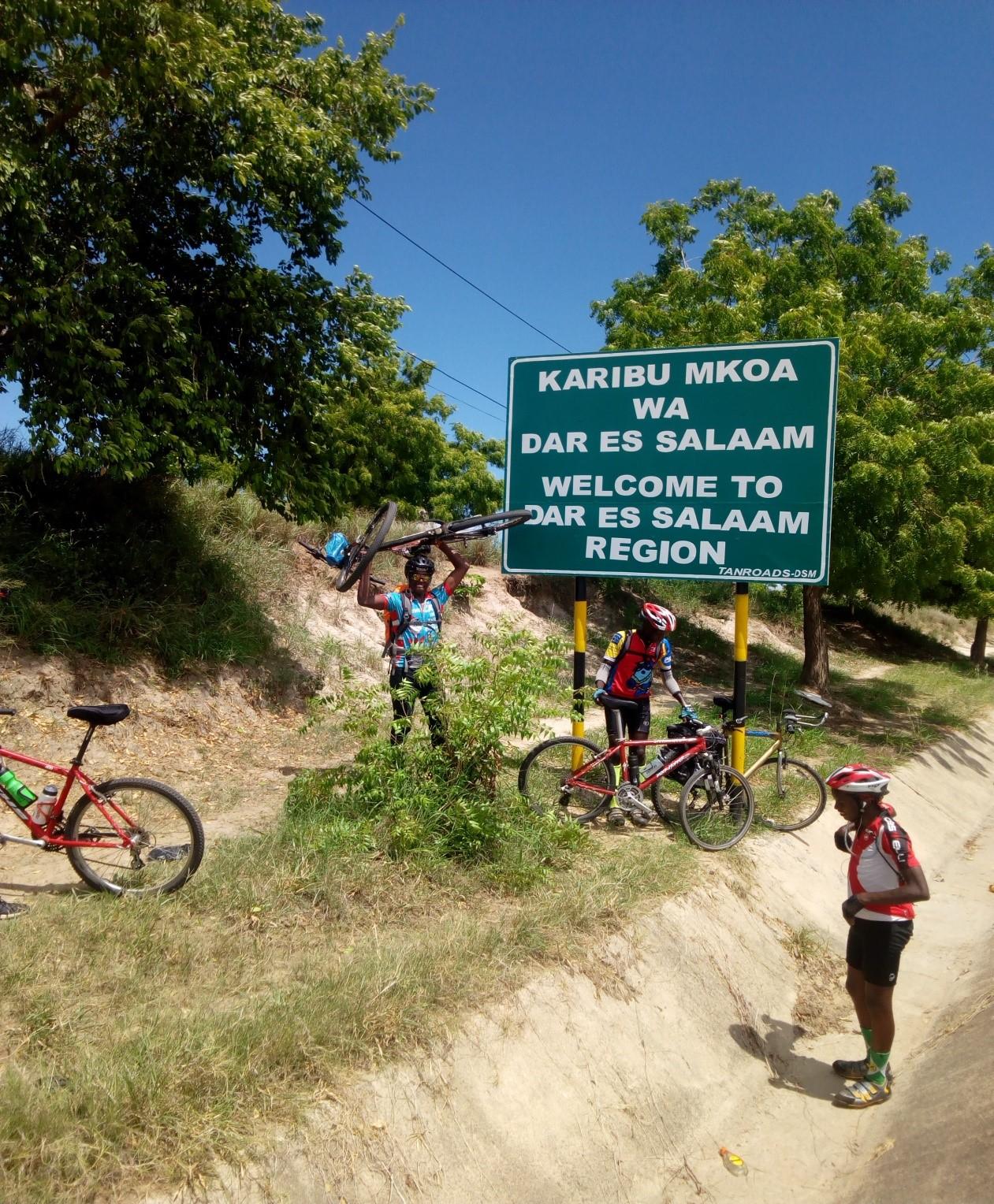 Cycling from Kenya to Tanzania