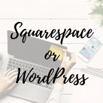 Squarespace or Wordress