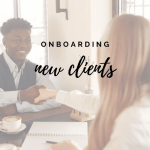 onboarding new clients