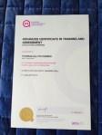 ACTA Certificate