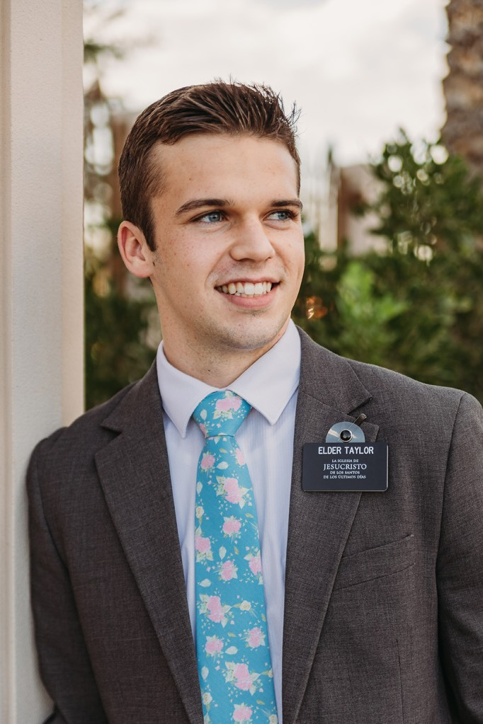 LDS missionary photography at the gilbert az temple