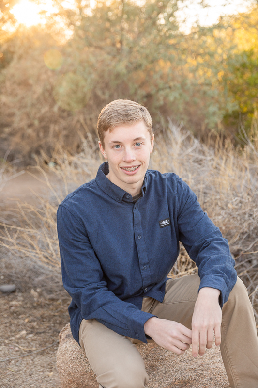 senior photos east valley arizona