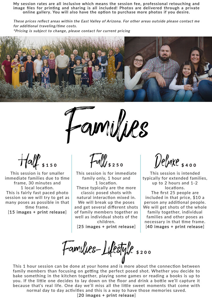 arizona family portrait and wedding photographer