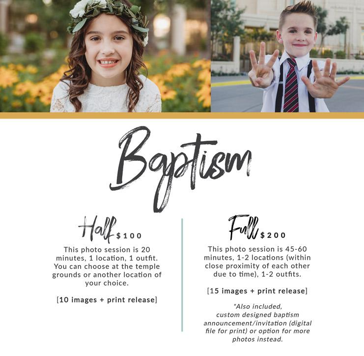 lds baptism arizona photographer pricing