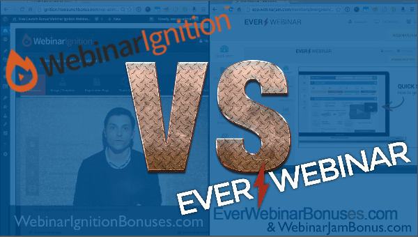 EverWebinar vs. webinar ignition evergreen webinars