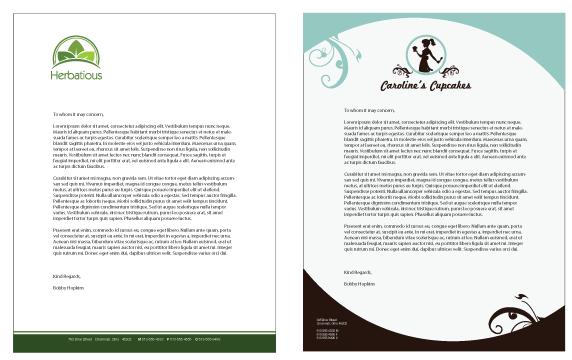 business letterheads free letterhead