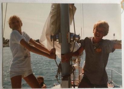 THE sailing trip
