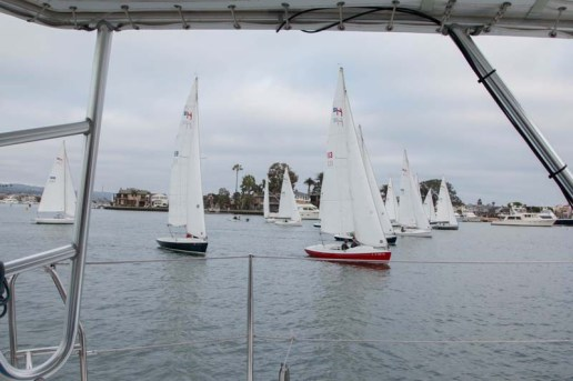 One of many small boat regattas