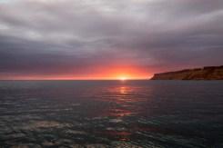 Punta Colonet at sunset