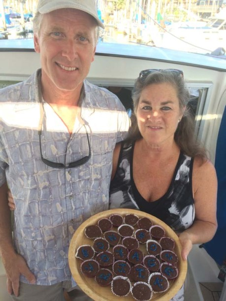 Homemade bon voyage PB cups (OMG!) by Mike and Nancty