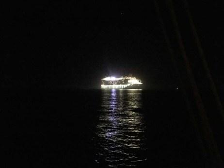 Night light on the last night in Cabo San Lucas