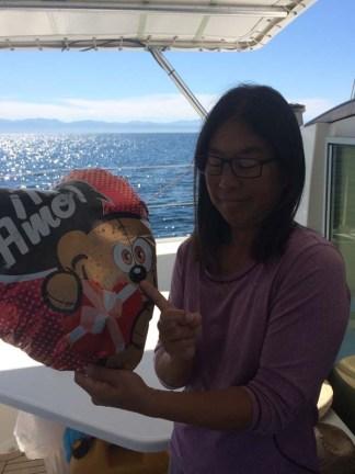 The errant balloon on the bay