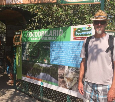 A visit to the croc preserve