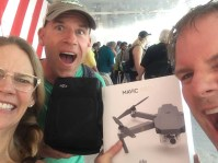 Tobin and Gretchen arrive - and so does Ry's new drone!