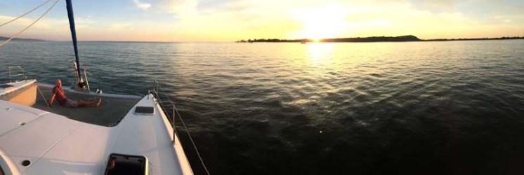 Sunset in San Blas